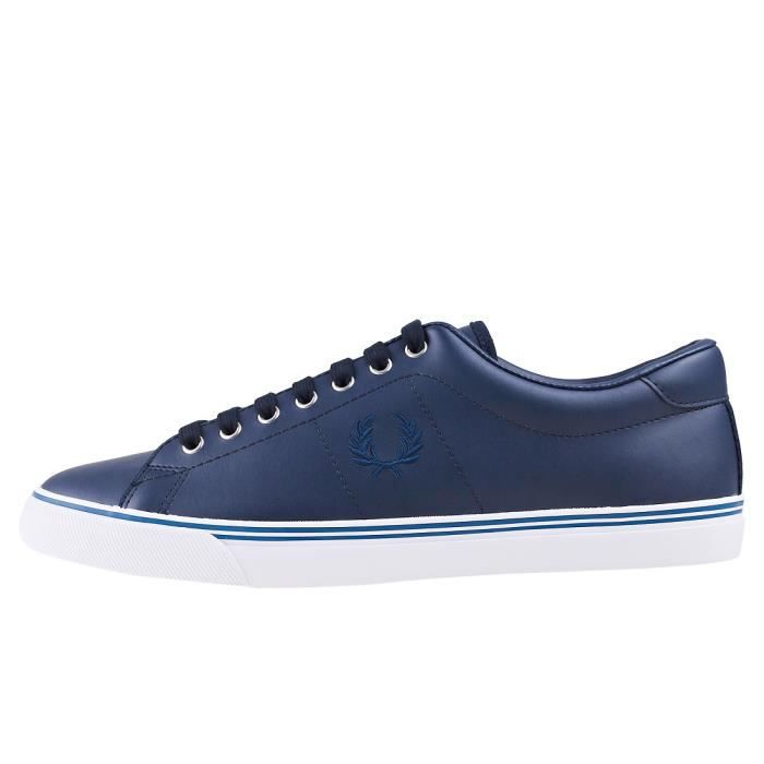 Underspin Hommes Fred 10 UK Baskets Marine Perry E5qxA7q1S