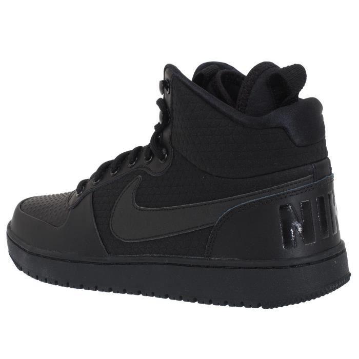 Chaussuresbasket Court boroughmid noir - Nike