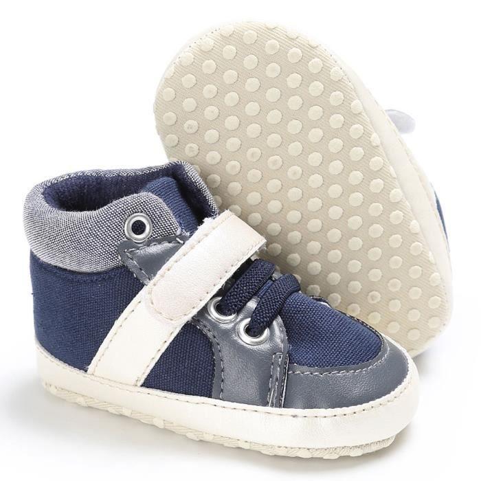 BOTTE Chaussures de bébé garçon fille nouveau-né cuir crèche chaussures à semelle souple@Jeunesse tibétaine b3wiei