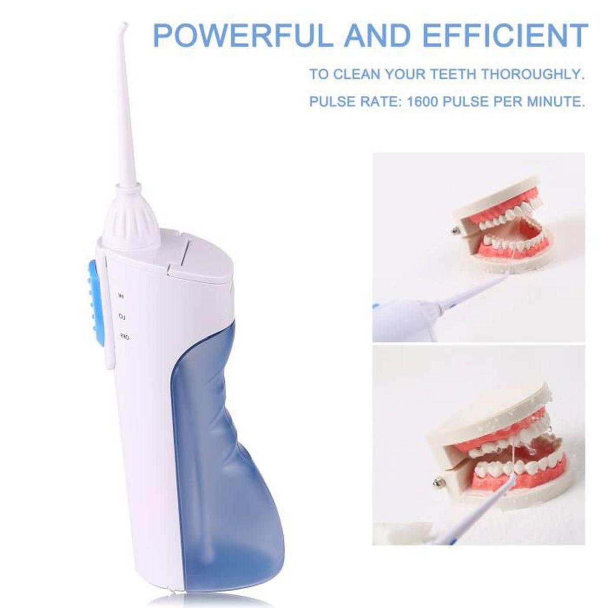 HYDROPULSEUR Portable ultrasons jet dentaire sans fil machine v