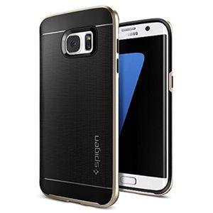 SPIGEN Coque Neo Hybrid - Galaxy S7 Edge - Or