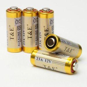 PILES Lot de 5 pile alcaline 23A 12V Pour télécommande