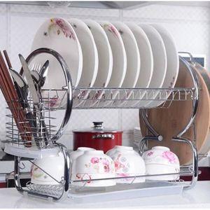 EGOUTTOIR À COUVERTS  Panier à vaisselle Crémaillère,  égouttoir à vais