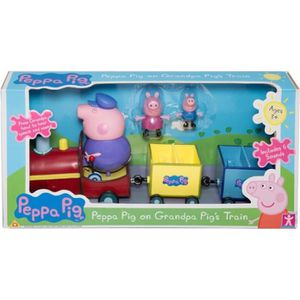 VOITURE - CAMION PEPPA PIG Train + 3 personnages