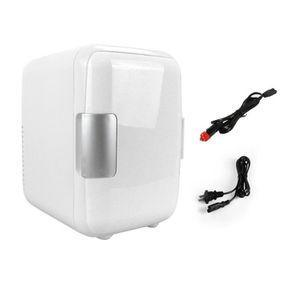 MINI-BAR – MINI FRIGO 4L Mini Réfrigérateur Voiture Maison Double Usage
