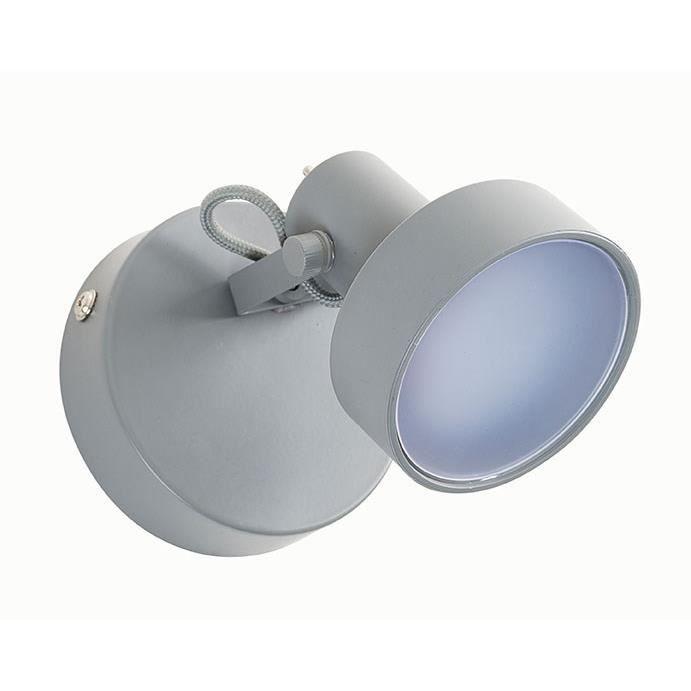 L9,5 cm - H10 cm - Ampoule intégrée 6w - 3000 KSPOTS - LIGNE DE SPOTS