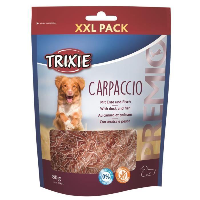 TRIXIE Carpaccio Premio au canard et poisson - 80g - Pour chien