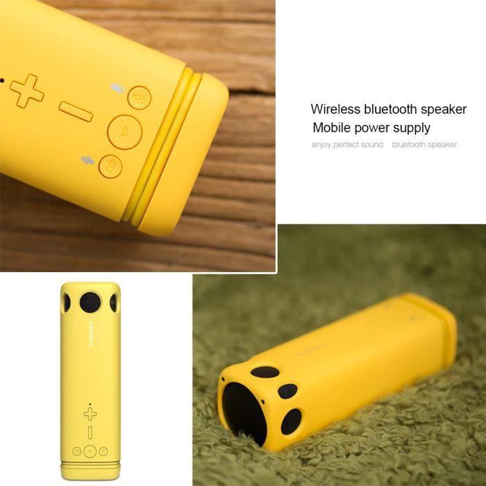 Haut-parleur Extérieur Sans Fil Bluetooth Mobile Power Lampe De Poche Mini Portable *w414