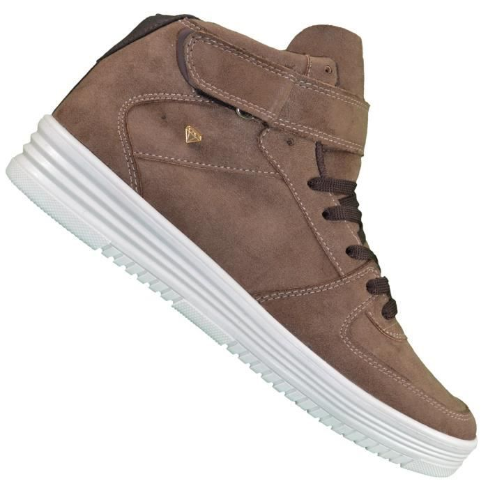 Money Montantes Taupe 33 Baskets Cash Stock Homme Cms gqAEH