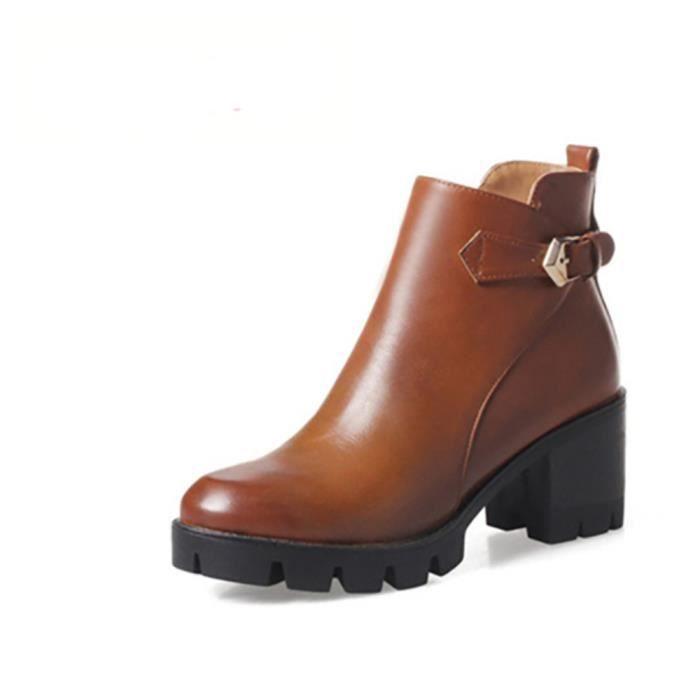Chaussures bottine femme - vintage tendance oEFE1G