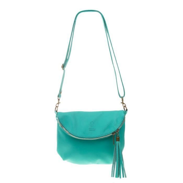 Cabas Pour Femme Turquoise Turquoise 23*2*18 AP7LZ