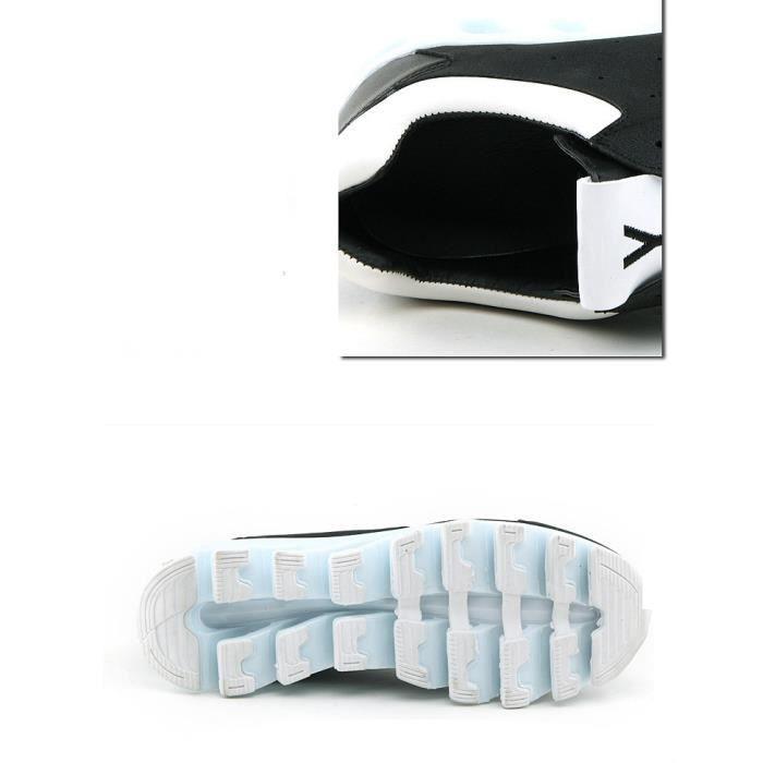 Casual Épais Chaussures Nouveaux Sandales Chaussures Homme Bottom Cuir En Sneakers XOwwfxpnHq