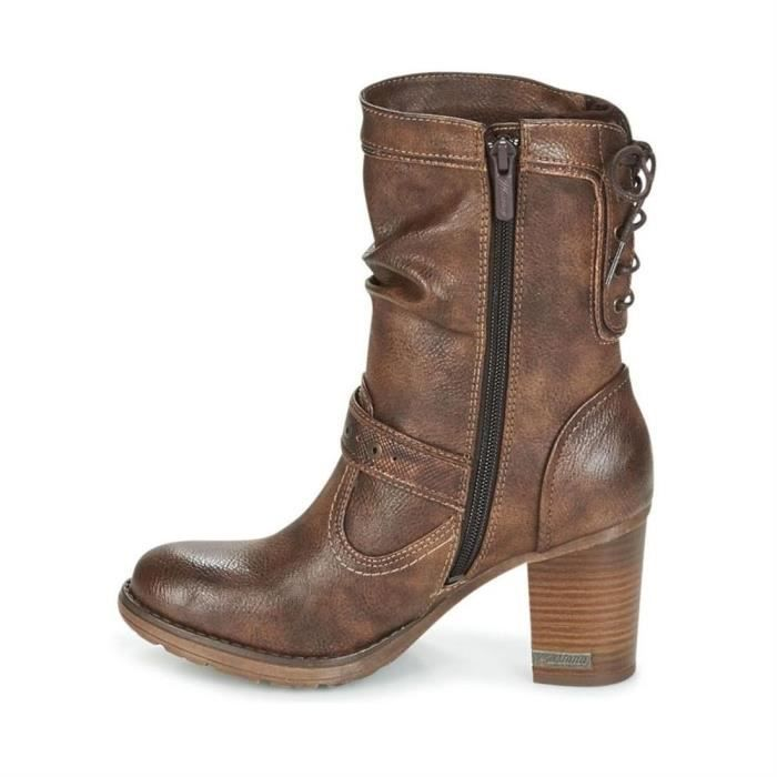 bottines / low boots 1233-504-820 femme mustang 1233-504