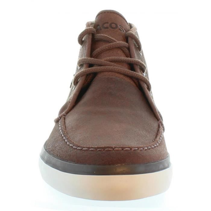 Bottines pour Homme LACOSTE 32CAM0034 SEVRIN 078 BROWN