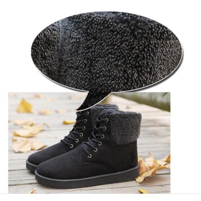 chaud pour de coton de hommes de Bottes neige mode hiver bottes Bottes wt8vqXIn