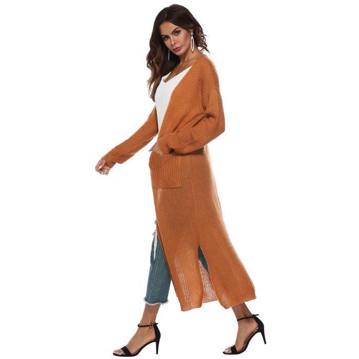 Femmes Casual Automne Kimono Cape Manches Longues Veste Manteau Cardigan Pageare4378 Ouvertes Chemisier wAq1wR