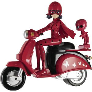 FIGURINE - PERSONNAGE MIRACULOUS - Ladybug et son scooter