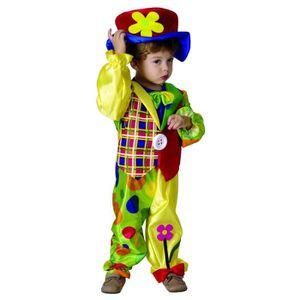 ACCESSOIRE DÉGUISEMENT Costume Clown Garcon Small 3/4 ans - Déguisement C