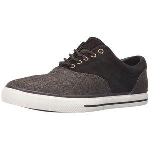 CASQUETTE Polo Ralph Lauren Vaughn Selle Tweed Sneaker mode
