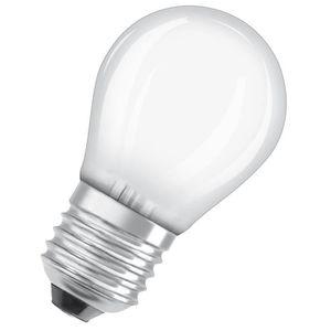 AMPOULE - LED OSRAM Ampoule LED E27 sphérique dépolie 4,5 W équi