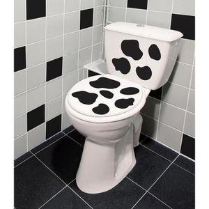 STICKERS PLAGE Sticker déco - WC tâches de vache 1 Planche