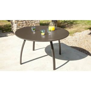 Table Granada 117 - Couleur - Rouille - Achat / Vente table de ...