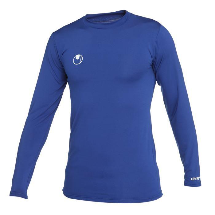 Matière : 88% polyester et12 % élasthanne - Coloris : bleu roi - Manches longues - MoulantTOP THERMIQUE - T-SHIRT THERMIQUE