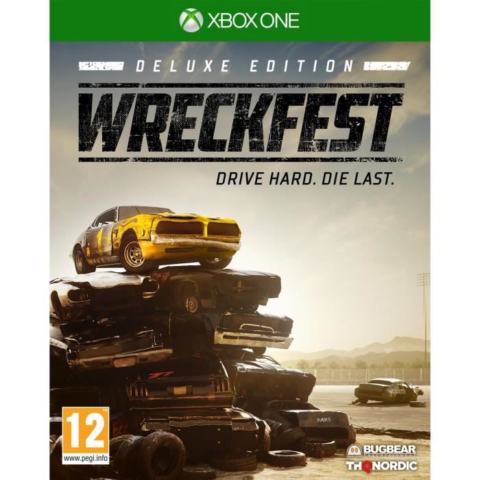 JEU XBOX ONE WreckFest Deluxe Edition Jeu Xbox one