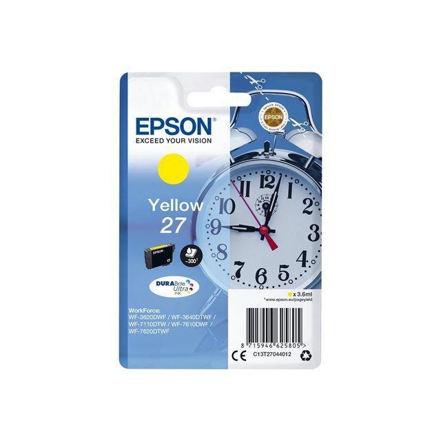 EPSON Cartouche T2704 - Réveil - Jaune