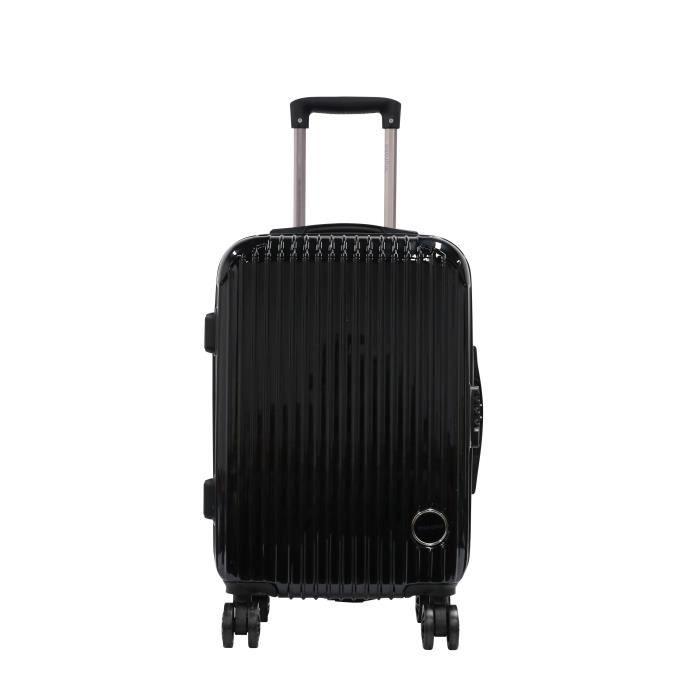 MURANO Valise de long séjour - 50 cm - Noir métal
