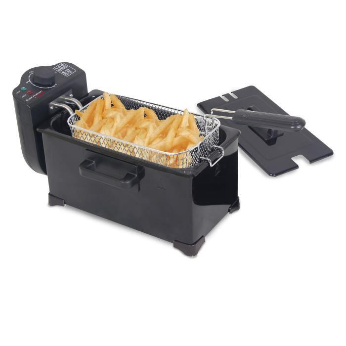 TECHWOOD CS-306 Friteuse électrique semi-professionnelle - Noir