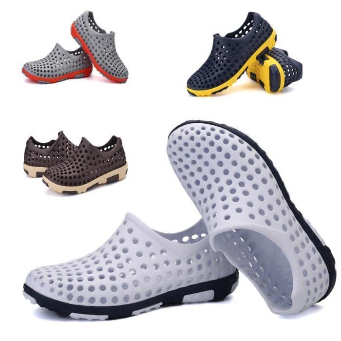 Plus Size Chaussures pour hommes d'été sandales de plage Respirant