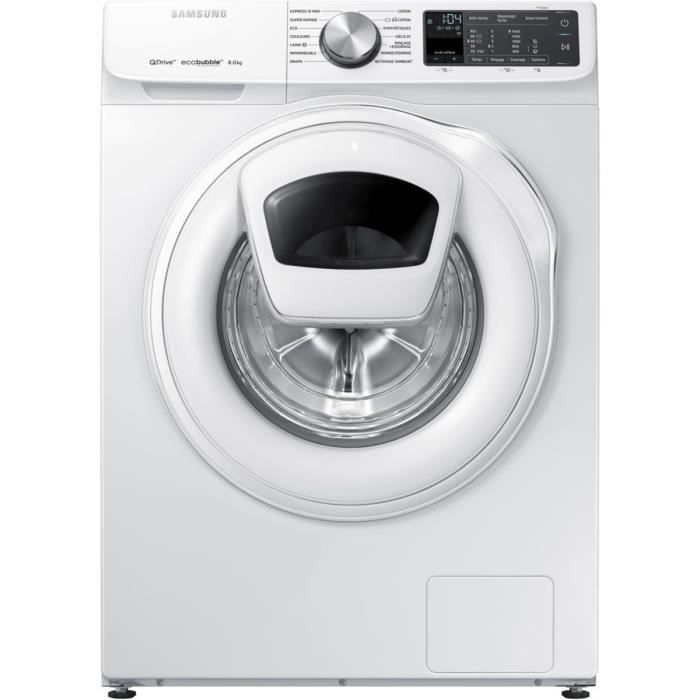 Lave-linge frontal SAMSUNG QuickDrive WW80M645OQM-EF - Achat   Vente ... 575ee92f57a0