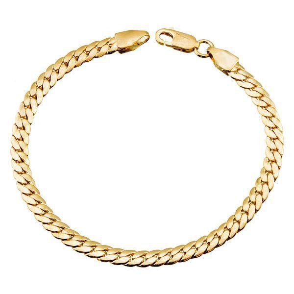Bracelet Maille Anglaise Plaqué …