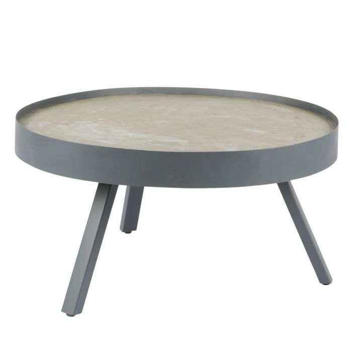 table basse table basse bton skip dimensions 38x74 cm - Table Basse Dimension