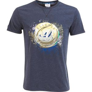 ELLESSE T-Shirt Homme Caly - Manches Courtes - Marine