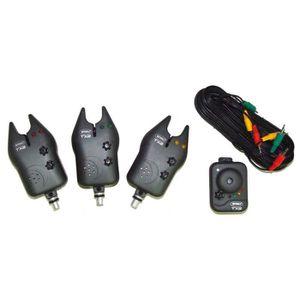 OUTILLAGE PÊCHE MITCHELL Centrale Pêche Carpe + 3 détecteurs touch