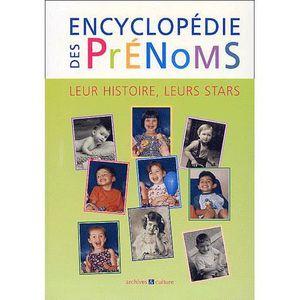 LIVRE ENFANT FAMILLE Encyclopédie des prénoms