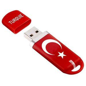 KEYOUEST Clé USB MAPPY PAYS - Turquie - 8 Go