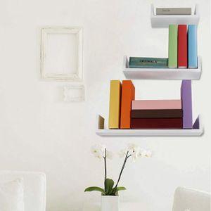etagere murale salon achat vente pas cher. Black Bedroom Furniture Sets. Home Design Ideas