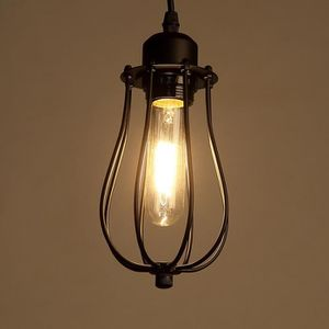 LUSTRE ET SUSPENSION Lampe Suspension Rétro en fer 12,5*18cm 110-220V (