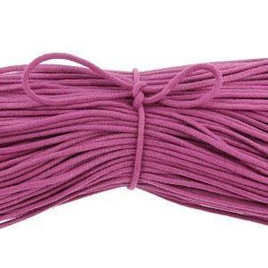 LACET  lacets ronds coton ciré couleur Violet - 70cm, …