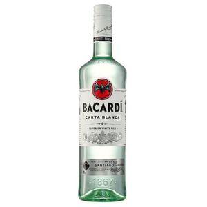 RHUM Bacardi Carta Blanca - Rhum Blanc - 1L - 37,5°