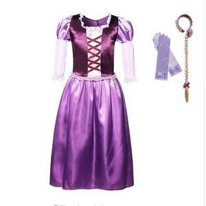 DÉGUISEMENT - PANOPLIE Princesse Raiponce Costume Robe de fête Robe 5-6 a