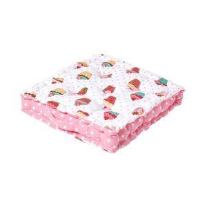 COUSSIN - MATELAS DE SOL Coussin de sol - Cupcakes - 50 x 50 cm