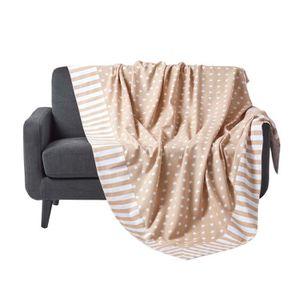 couvre canape beige achat vente couvre canape beige pas cher cdiscount. Black Bedroom Furniture Sets. Home Design Ideas