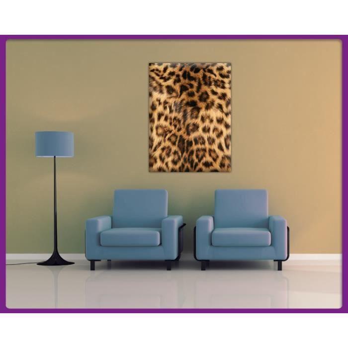 bilderdepot24 impression sur toile pelage de l opard. Black Bedroom Furniture Sets. Home Design Ideas