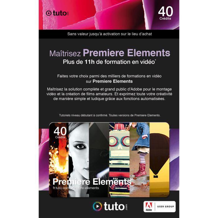 LOGICIEL LOISIRS Carte 11h de formation Tuto.com pour Prem