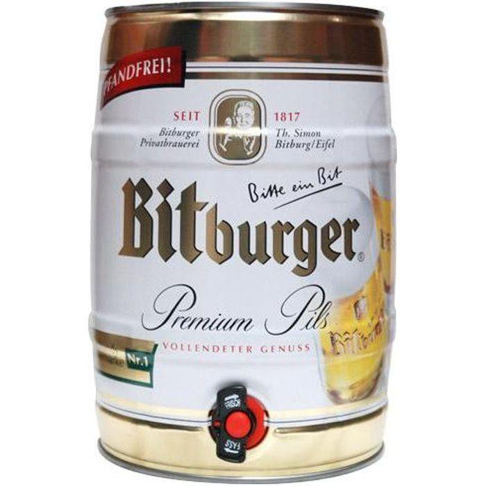 fut de bière allemande bitburger - achat / vente bière bière