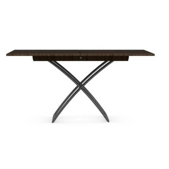 Table basse relevable extensible italienne MAGIC J smoke - Achat ...